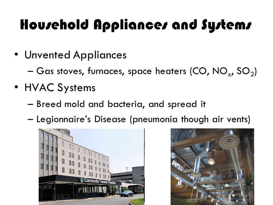 Household Appliances and Systems
