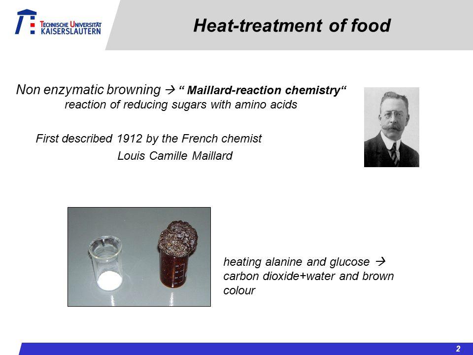 Heat-treatment of food
