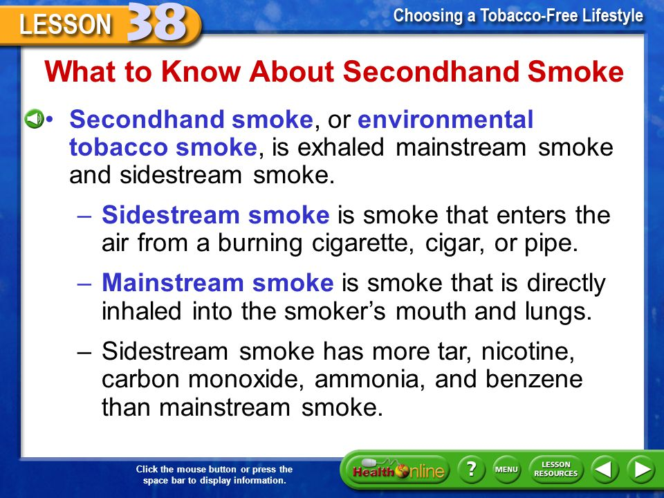What to Know About Secondhand Smoke