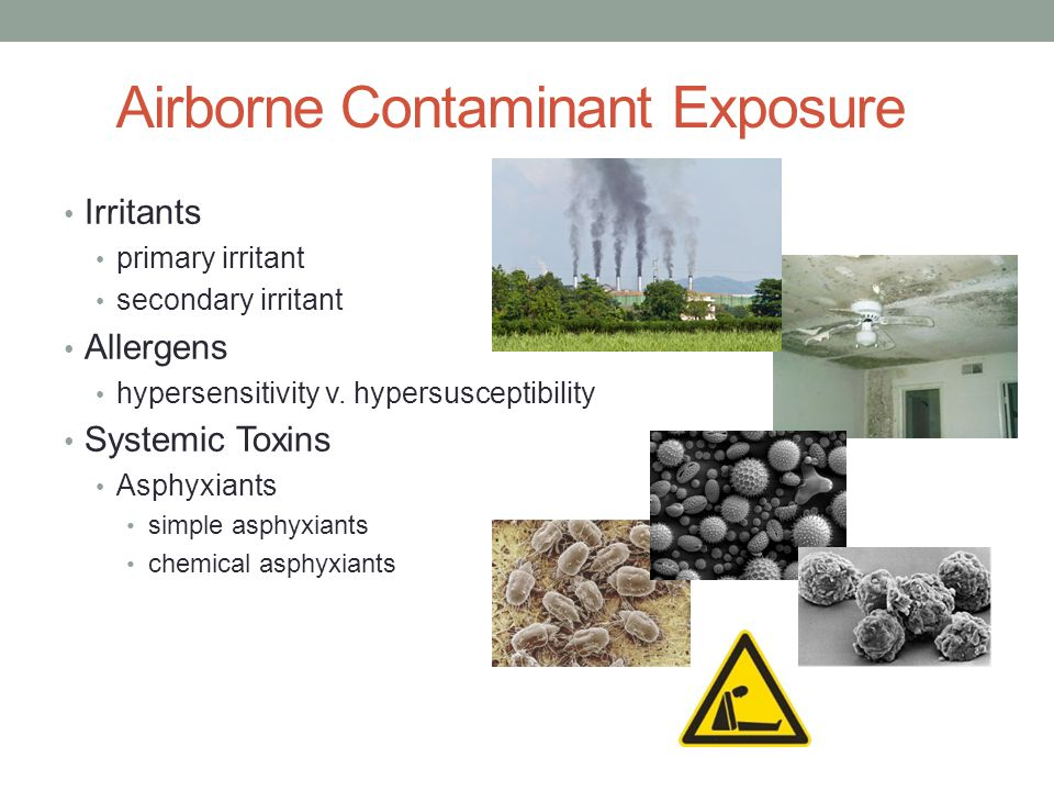 Airborne Contaminant Exposure