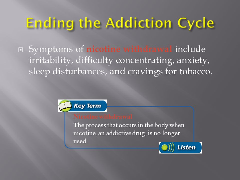 Ending the Addiction Cycle