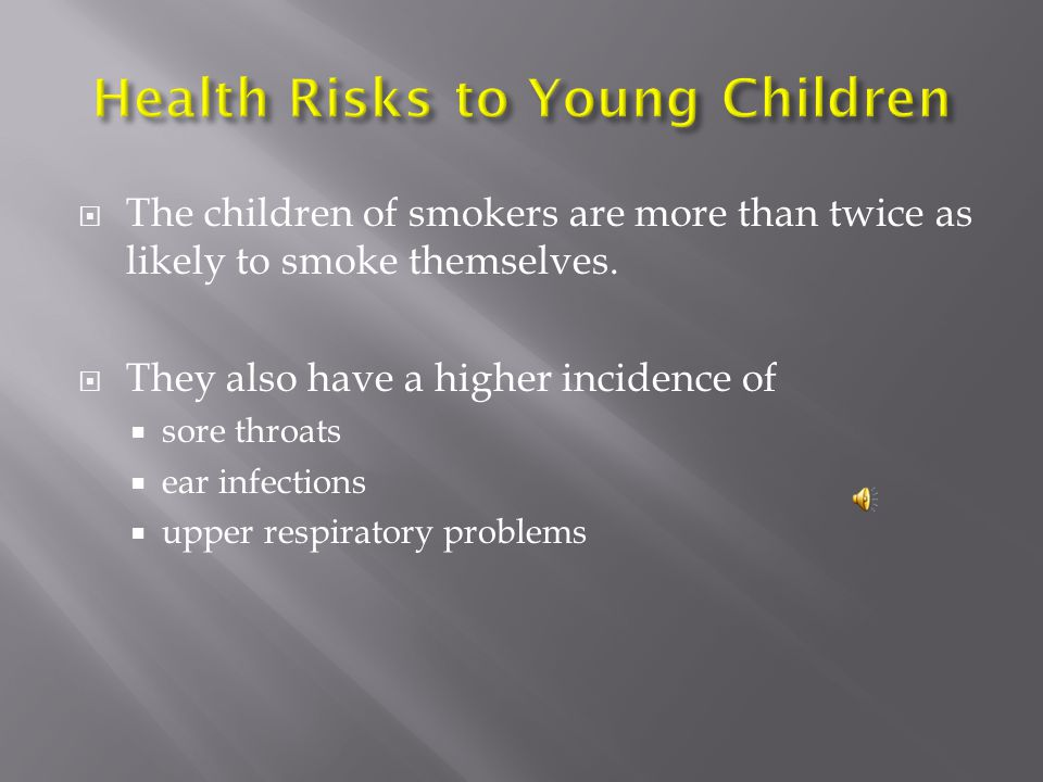 Health Risks to Young Children