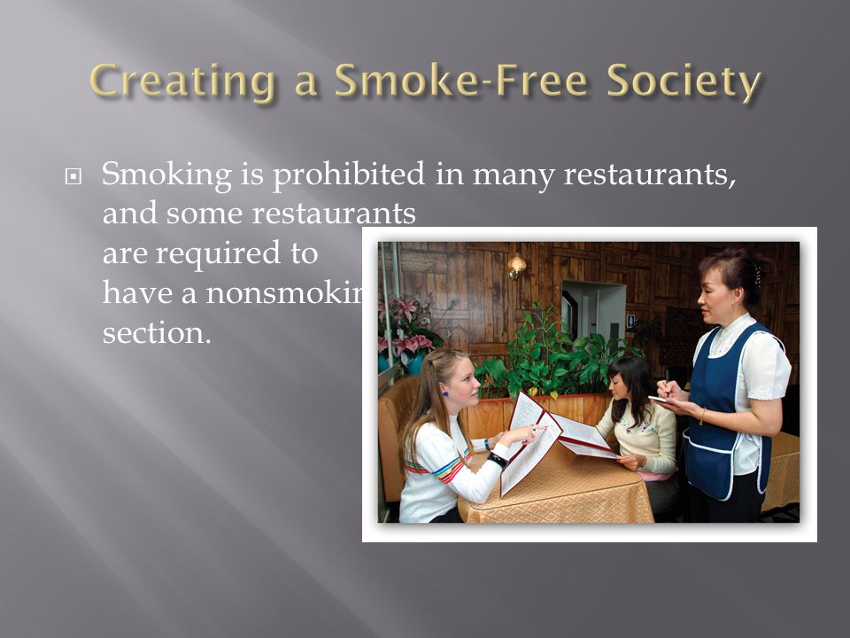 Creating a Smoke-Free Society