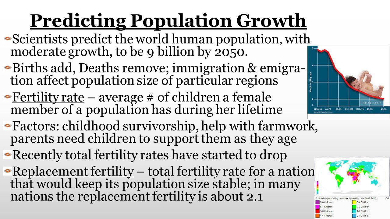 Predicting Population Growth