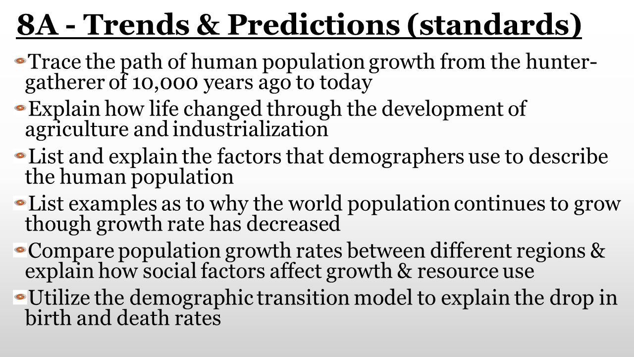 8A - Trends & Predictions (standards)