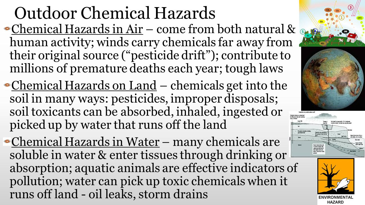 Outdoor Chemical Hazards