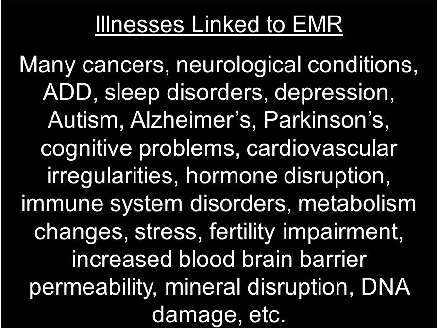 Illnesses Linked to EMR