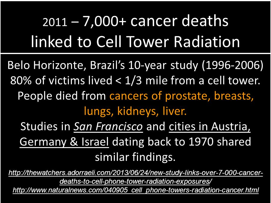 linked to Cell Tower Radiation