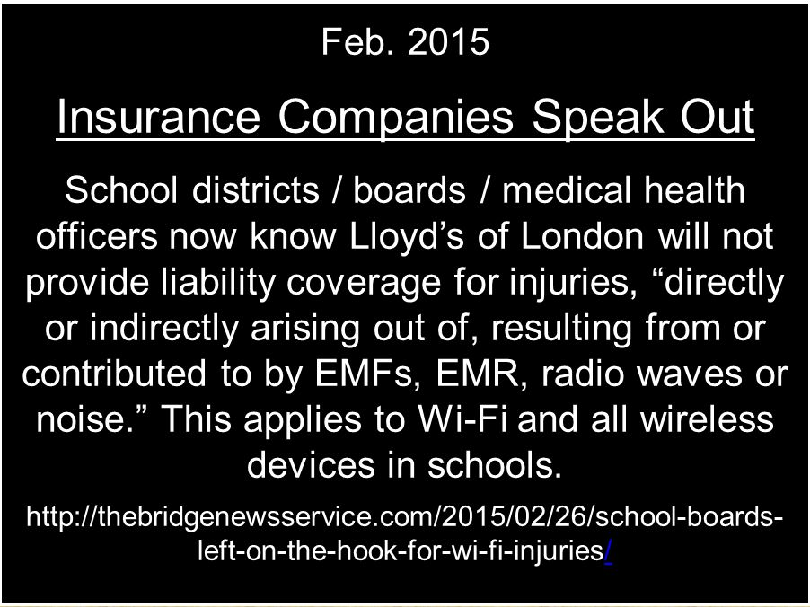 Insurance Companies Speak Out