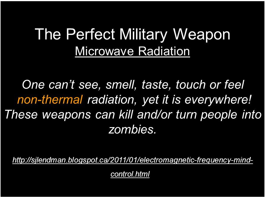 The Perfect Military Weapon