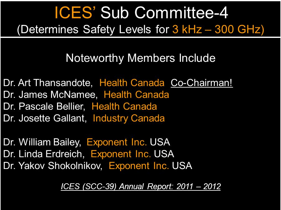 Noteworthy Members Include
