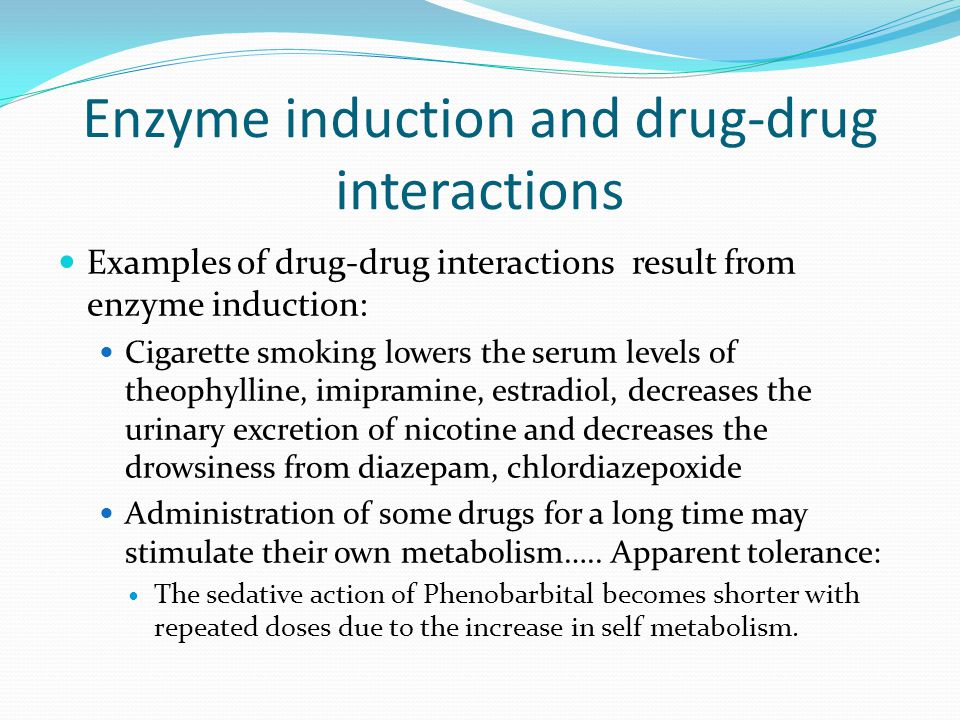 Enzyme induction and drug-drug interactions
