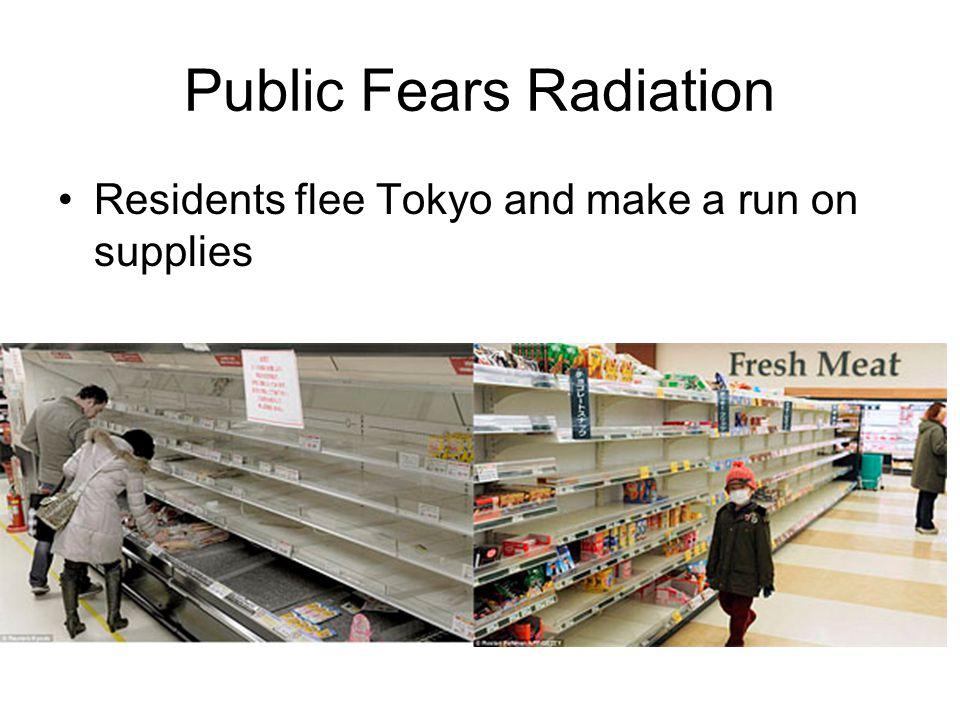 Public Fears Radiation