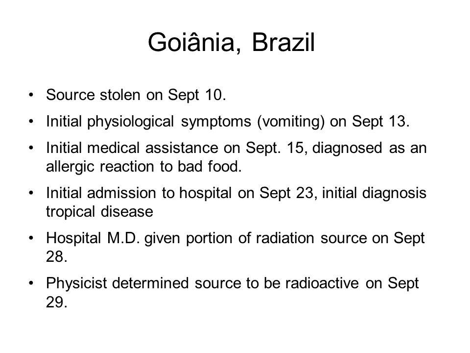 Goiânia, Brazil Source stolen on Sept 10.