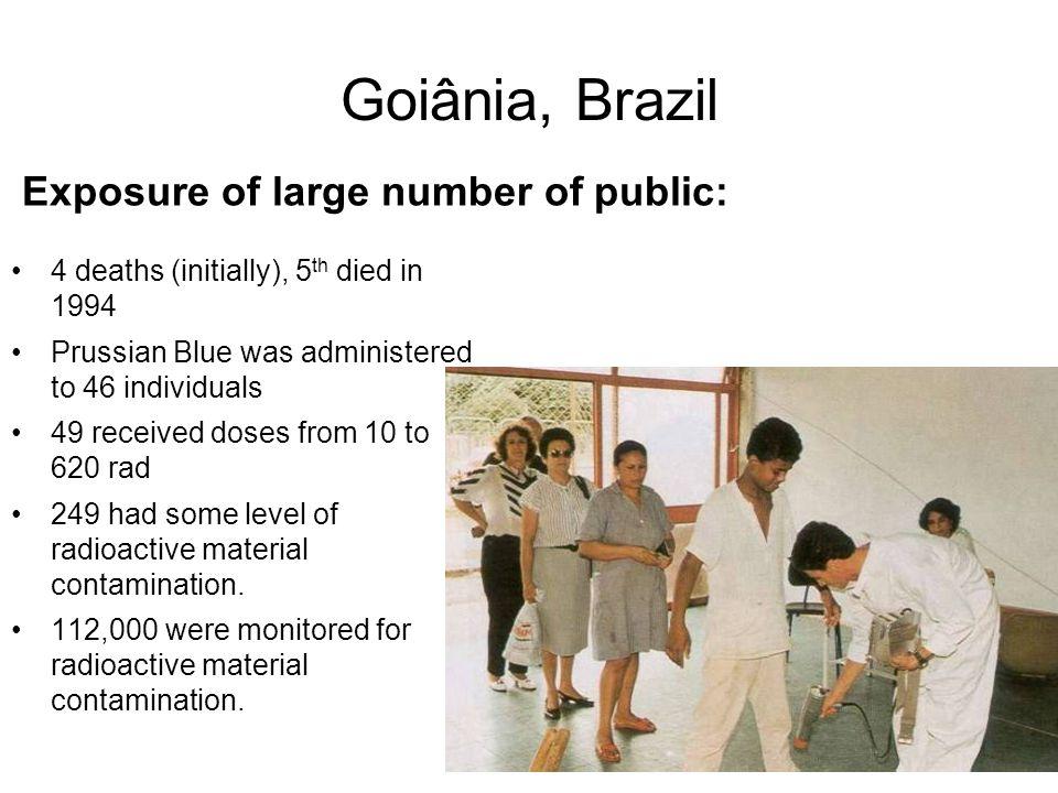 Goiânia, Brazil Exposure of large number of public: