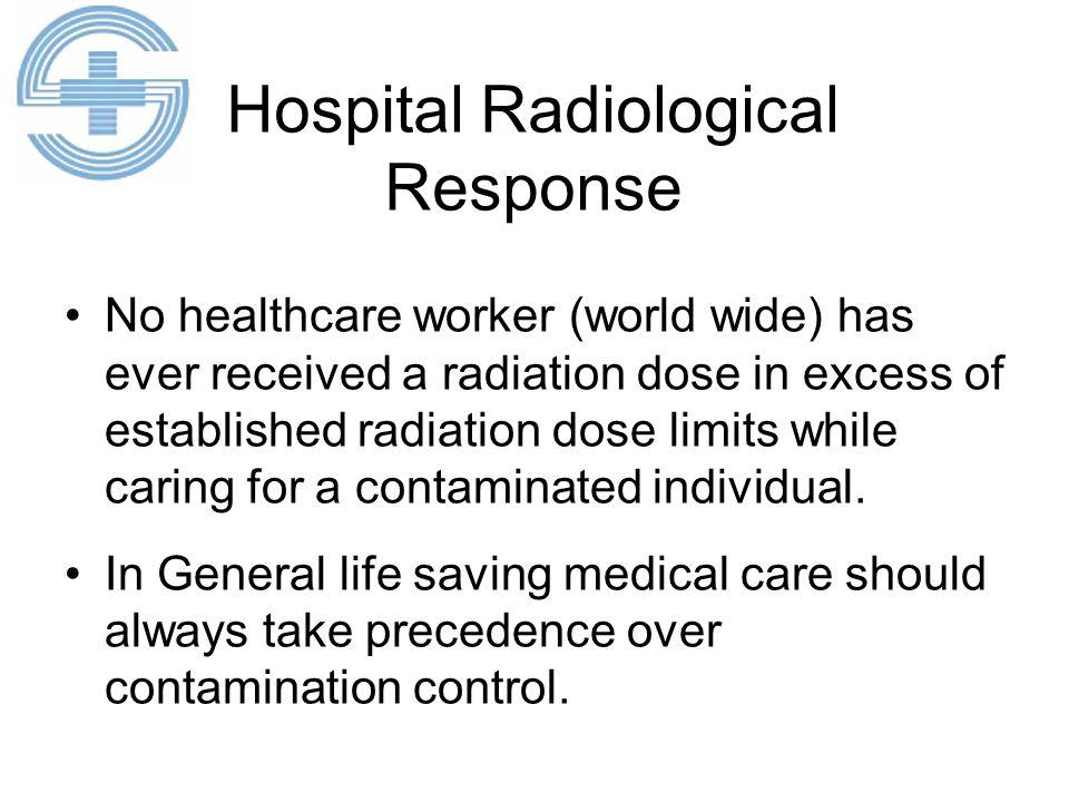 Hospital Radiological Response