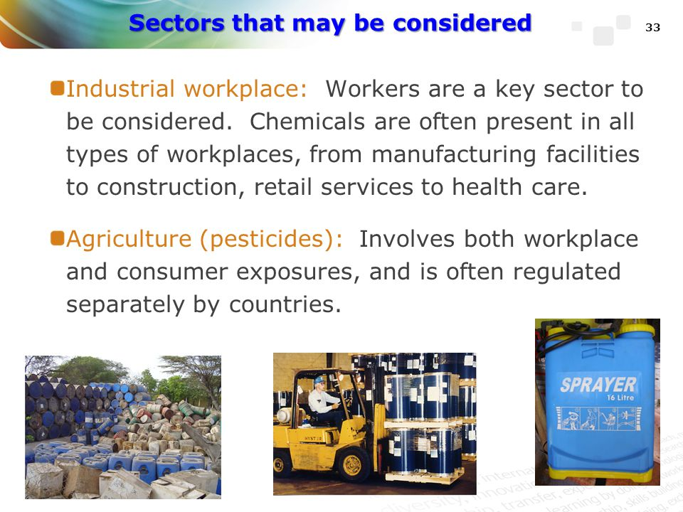 Sectors that may be considered