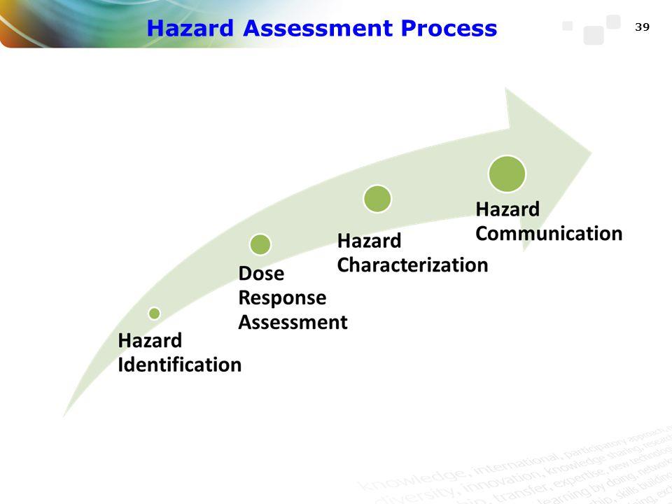 Hazard Assessment Process