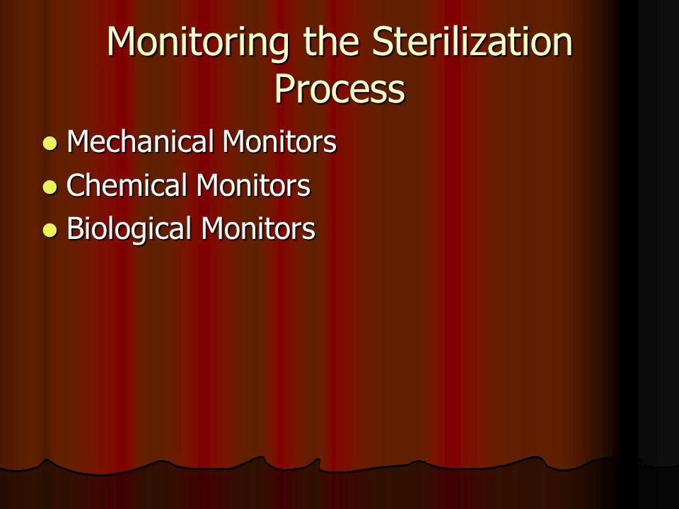 Monitoring the Sterilization Process