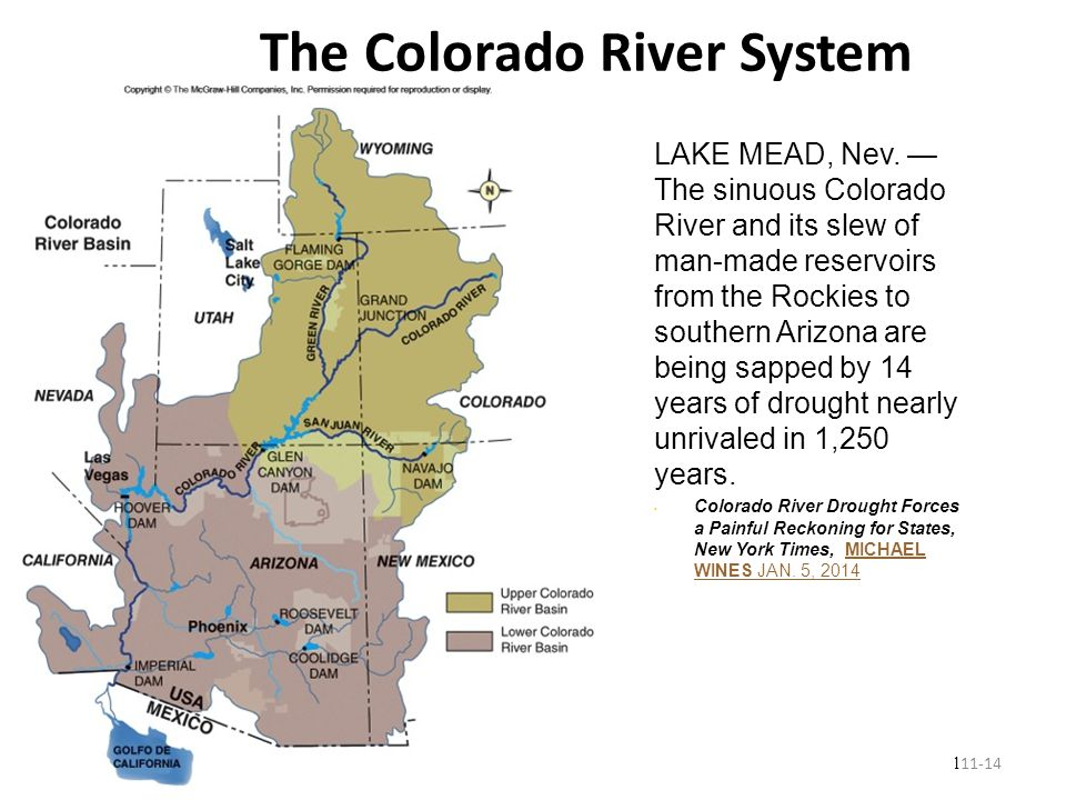The Colorado River System