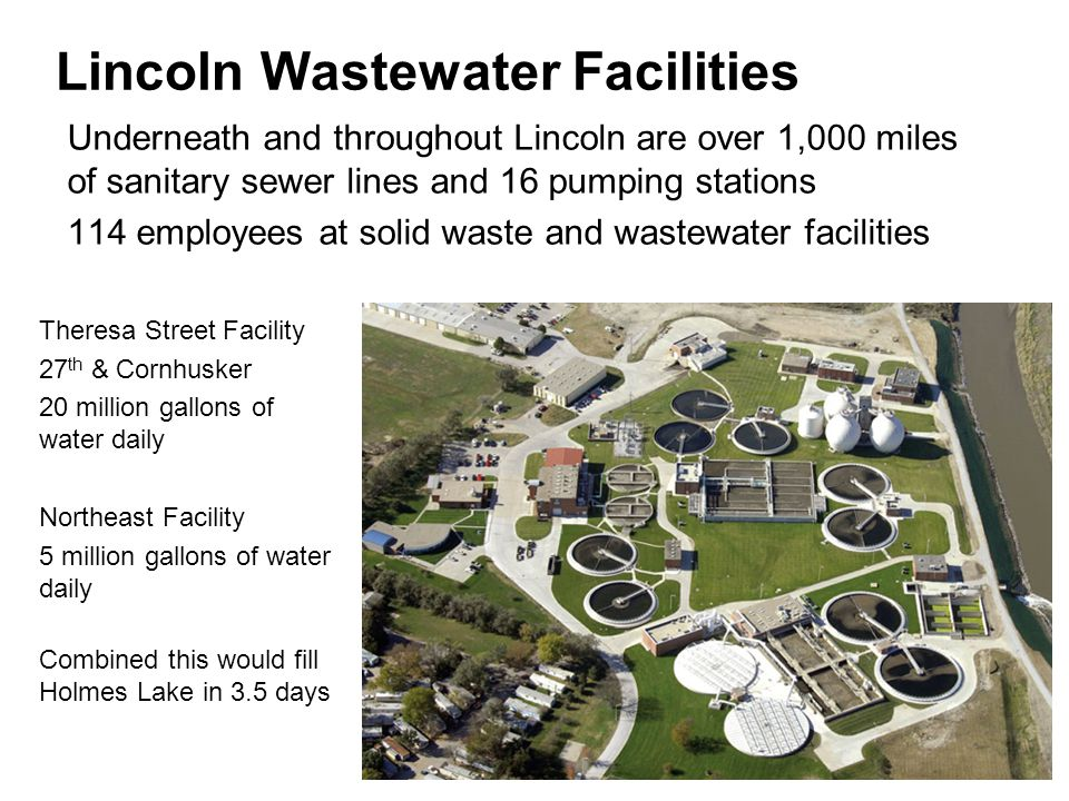 Lincoln Wastewater Facilities