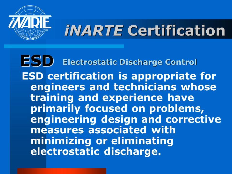 ESD iNARTE Certification