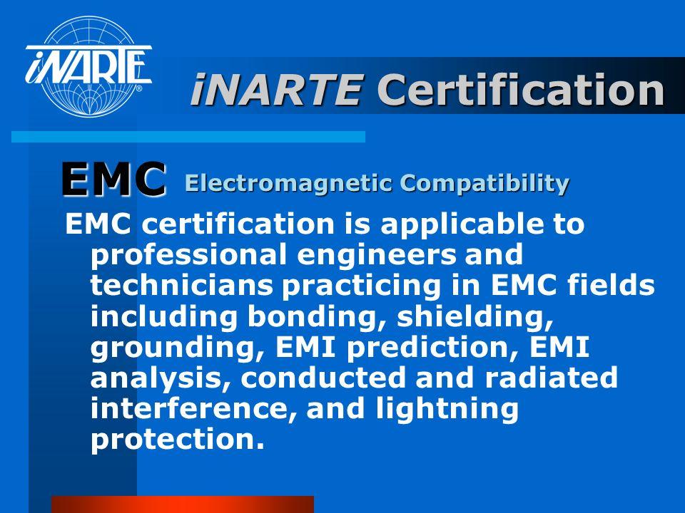 EMC iNARTE Certification