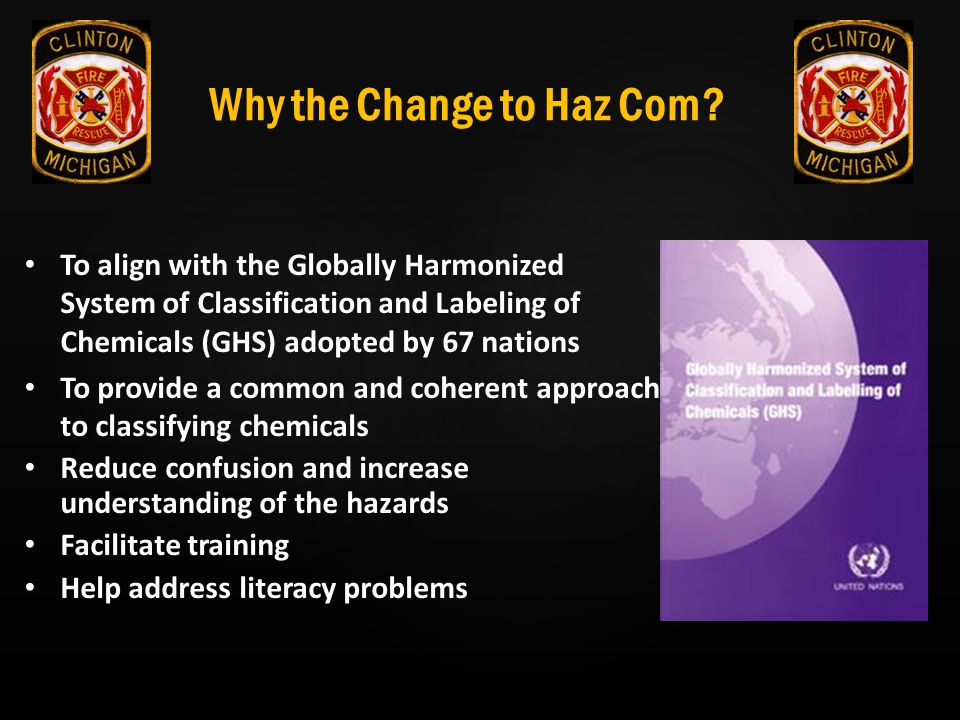 Why the Change to Haz Com