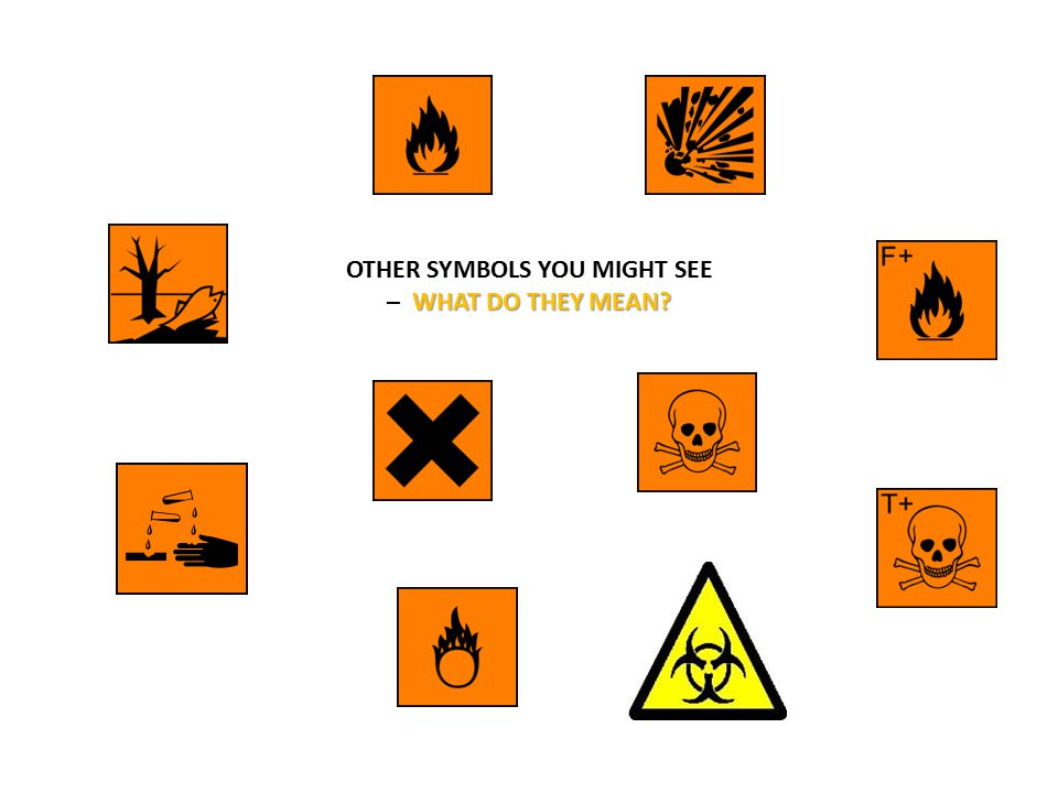 OTHER SYMBOLS YOU MIGHT SEE