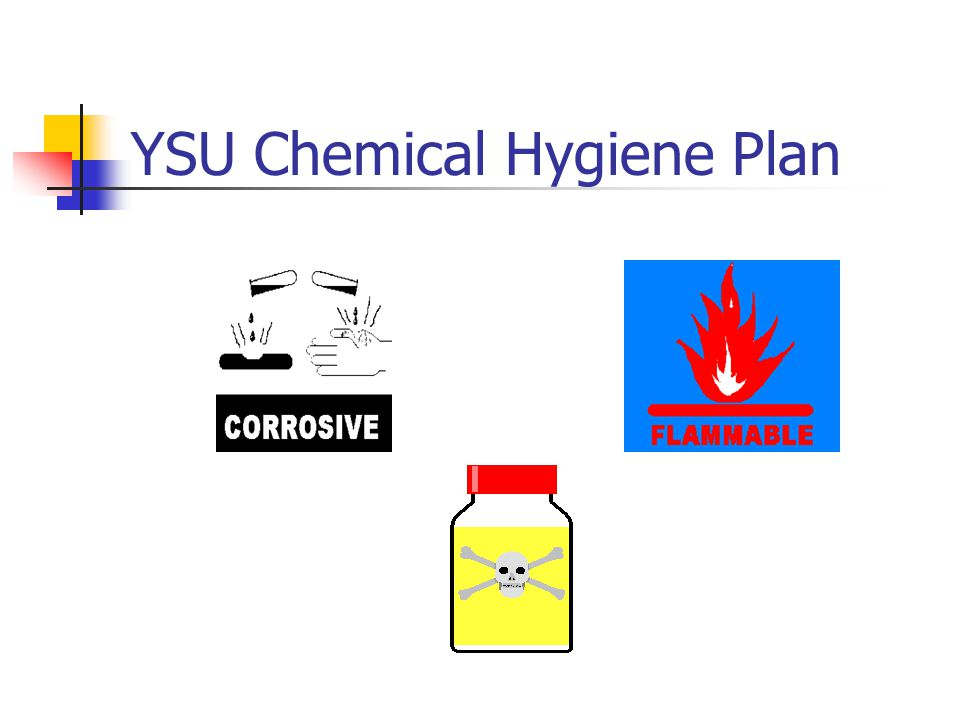 YSU Chemical Hygiene Plan