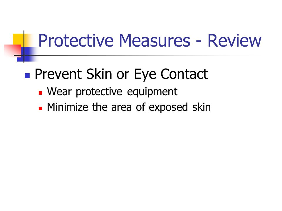 Protective Measures - Review