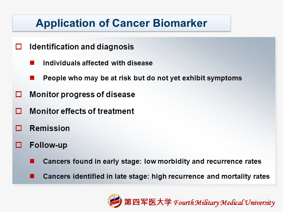 Application of Cancer Biomarker