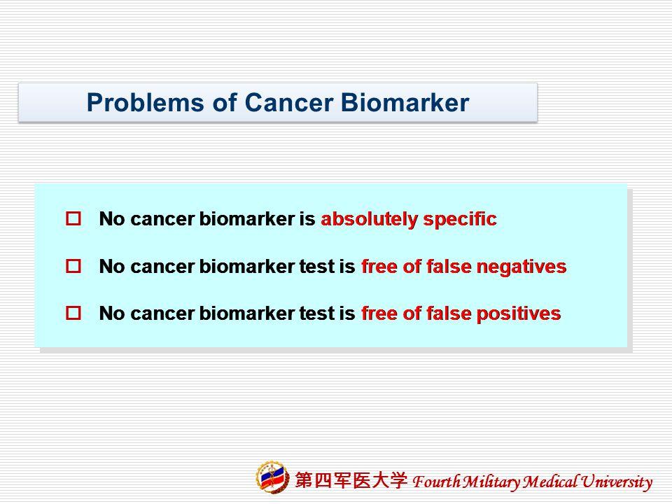 Problems of Cancer Biomarker
