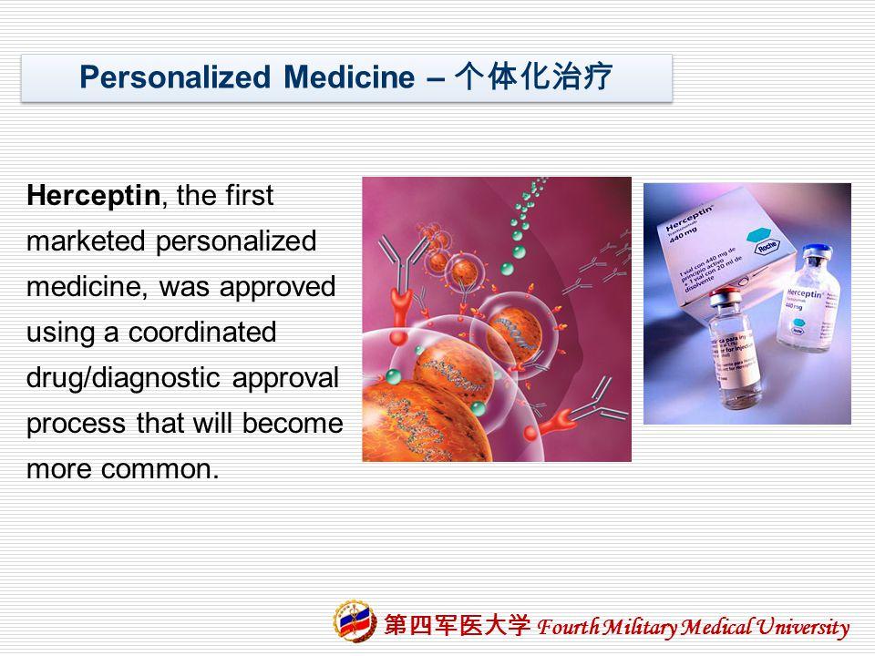 Personalized Medicine – 个体化治疗