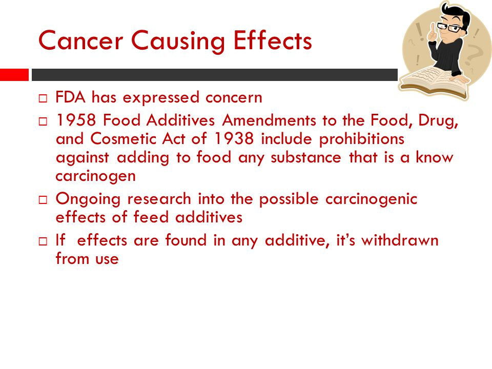 Cancer Causing Effects