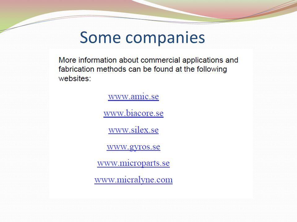 Some companies