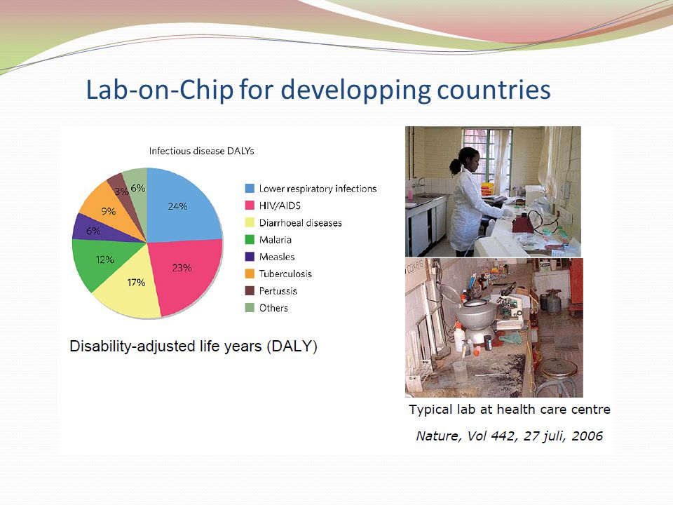 Lab-on-Chip for developping countries