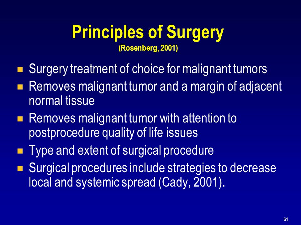Principles of Surgery (Rosenberg, 2001)