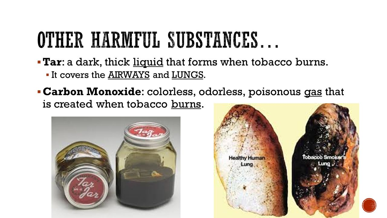 Other Harmful Substances…