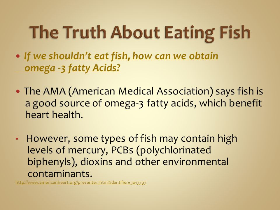 The Truth About Eating Fish