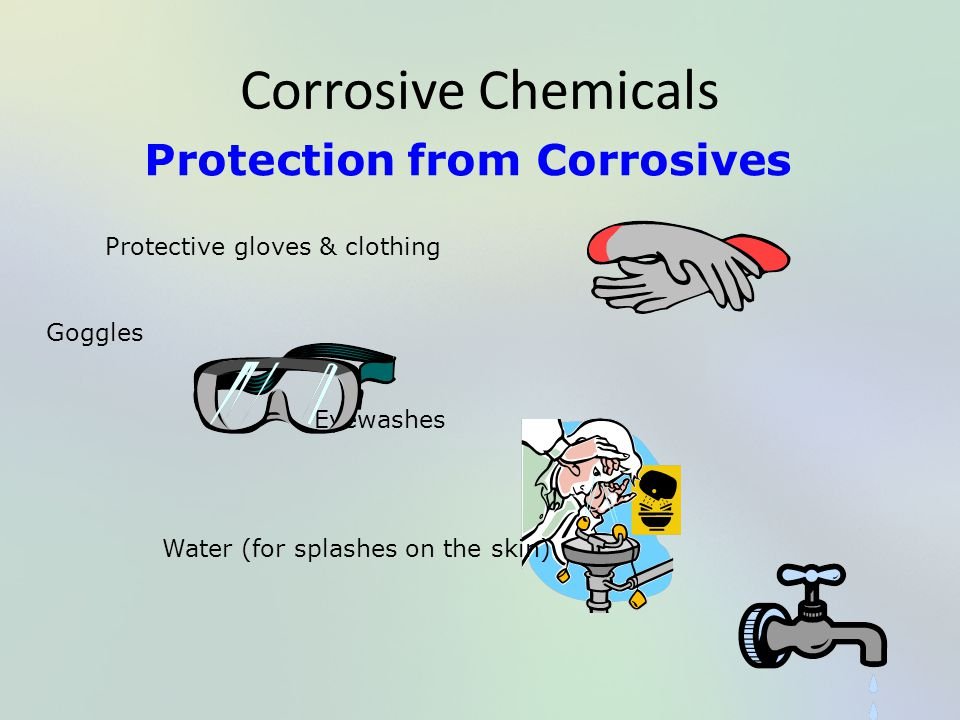 Protection from Corrosives