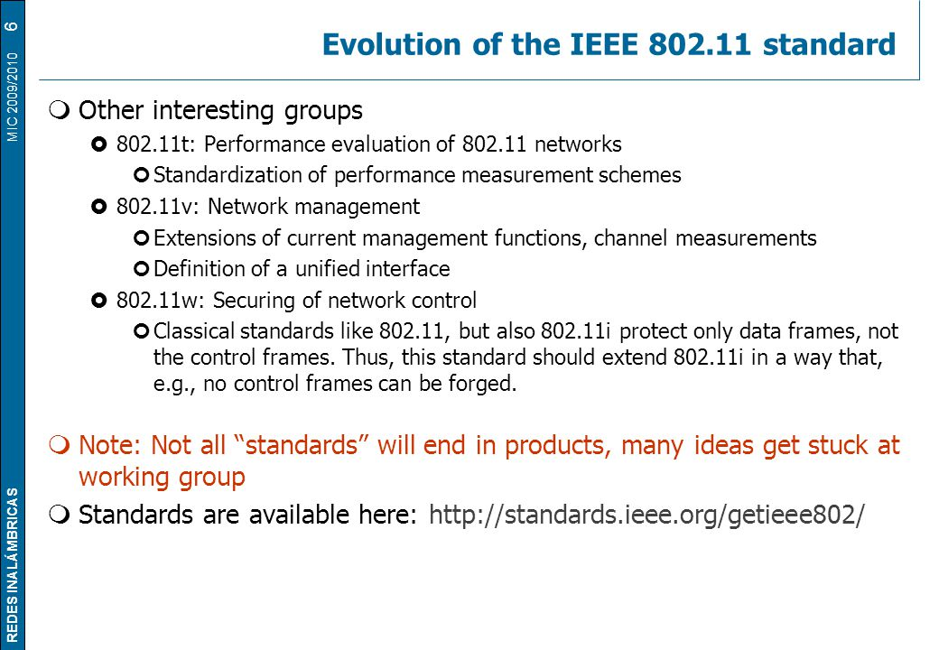 Redes inal mbricas tema 2 c wireless lans the ieee for Ieee definition
