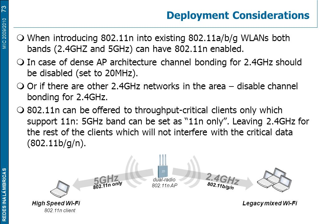 Deployment Considerations