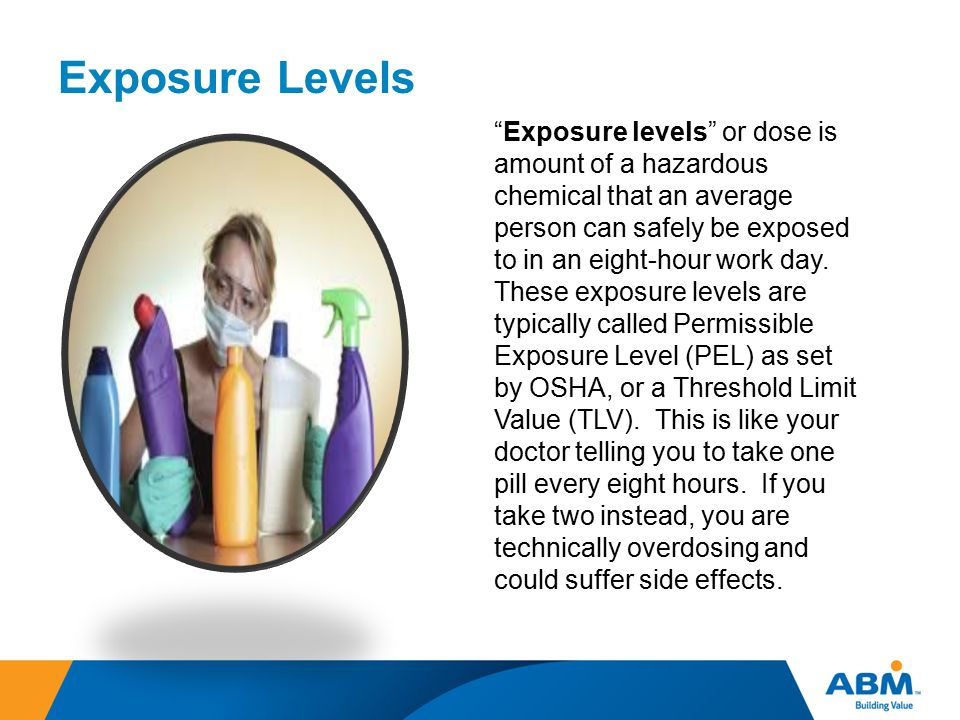 Exposure Levels