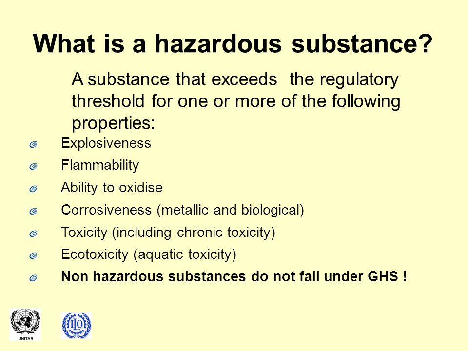 What is a hazardous substance