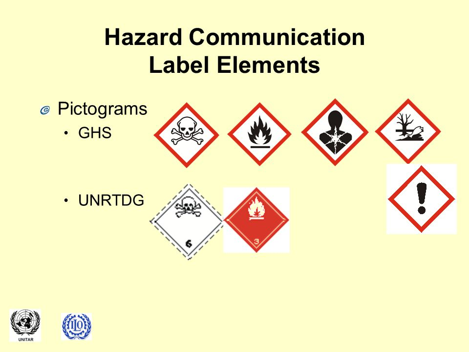 Hazard Communication Label Elements