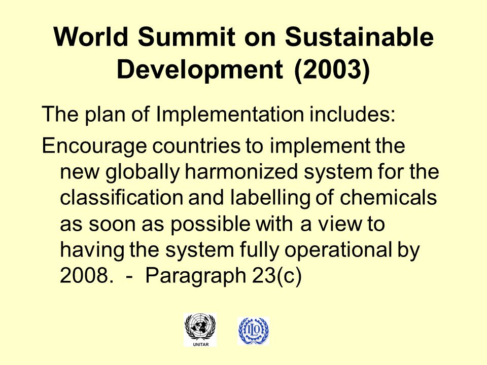 World Summit on Sustainable Development (2003)