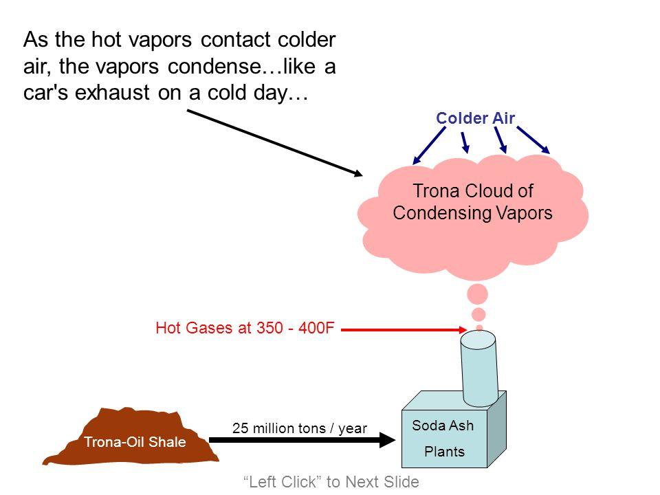 Trona Cloud of Condensing Vapors
