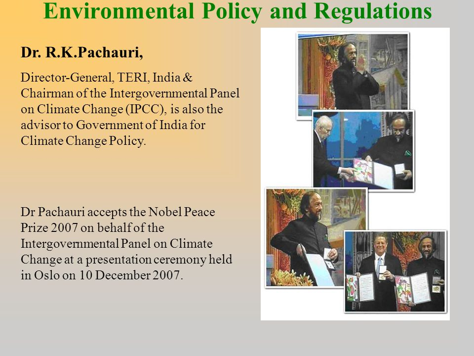 Environmental Policy and Regulations