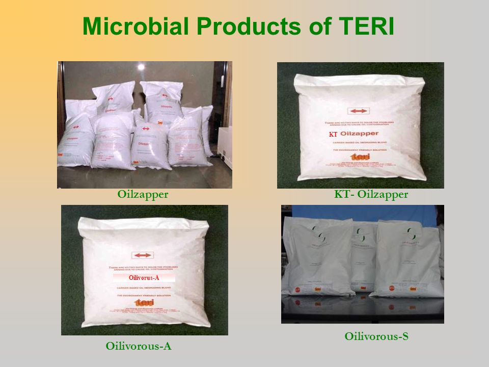 Microbial Products of TERI